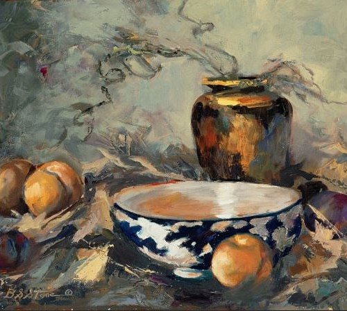 Stillife - 16x20 - oil