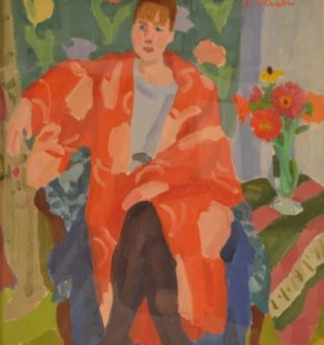 Other Artist - Woman in Red