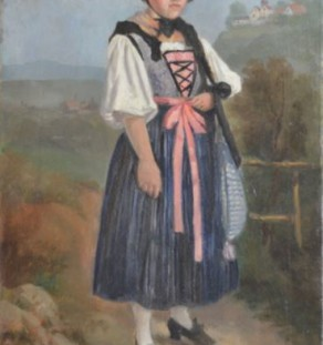 Other Artists - Dressed up Peasant Girl